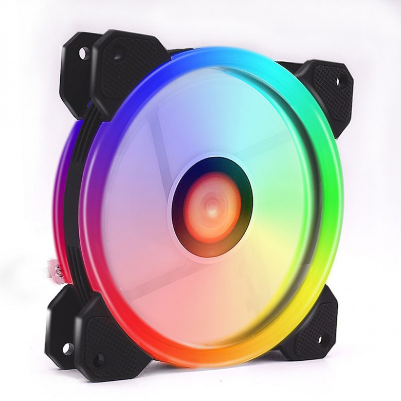 12CM DOUBLE RING COLORFUL RGB