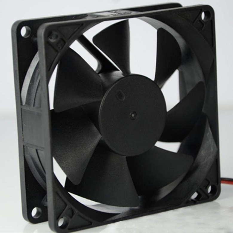 8-12CM black fan